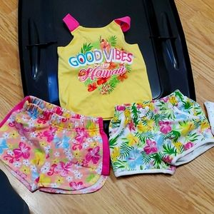Hawaii tank and shorts set